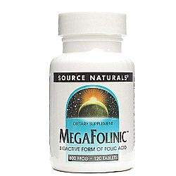 Source Naturals MegaFolinic 800 mcg