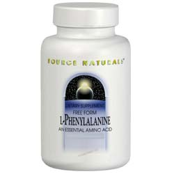 Source Naturals L-Phenylalanine 500 mg