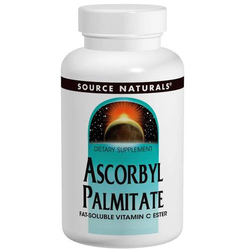 Source Naturals Ascorbyl Palmitate  - 500 mg - 180 Capsules