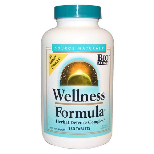 Source Naturals Wellness Formula  - 180 Tablets - 5399_front.jpg