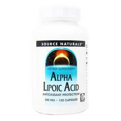 Source Naturals Alpha Lipoic Acid 300 mg