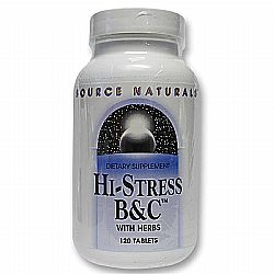 Source Naturals Hi-Stress BC - 120 Tablets