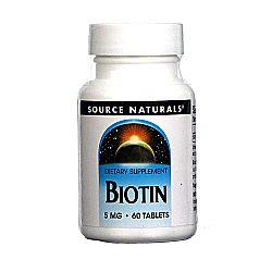 Source Naturals Biotin 5 mg