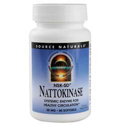 Source Naturals Nattokinase 50 mg