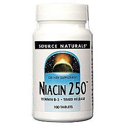 Source Naturals Niacin 250mg