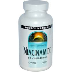 Source Naturals Niacinamide 1500 mg Vitamin B-3