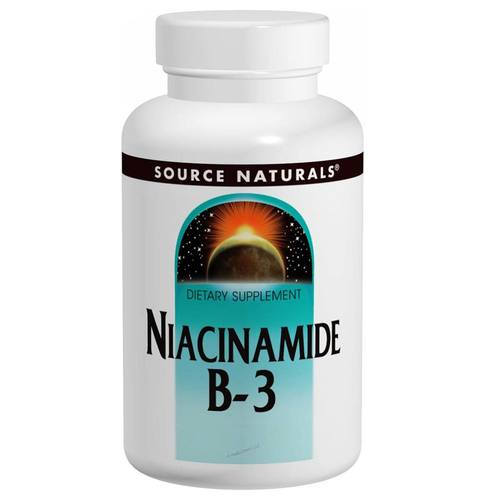 Source Naturals Niacinamide B-3 - 100 Tablets