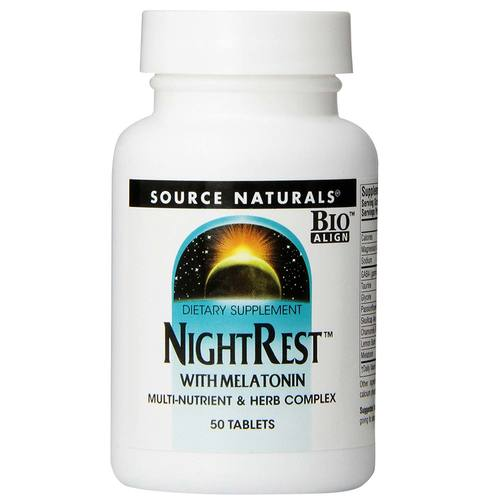 Source Naturals Descanso Nocturno - 50 Tabletas - 8182_01.jpg