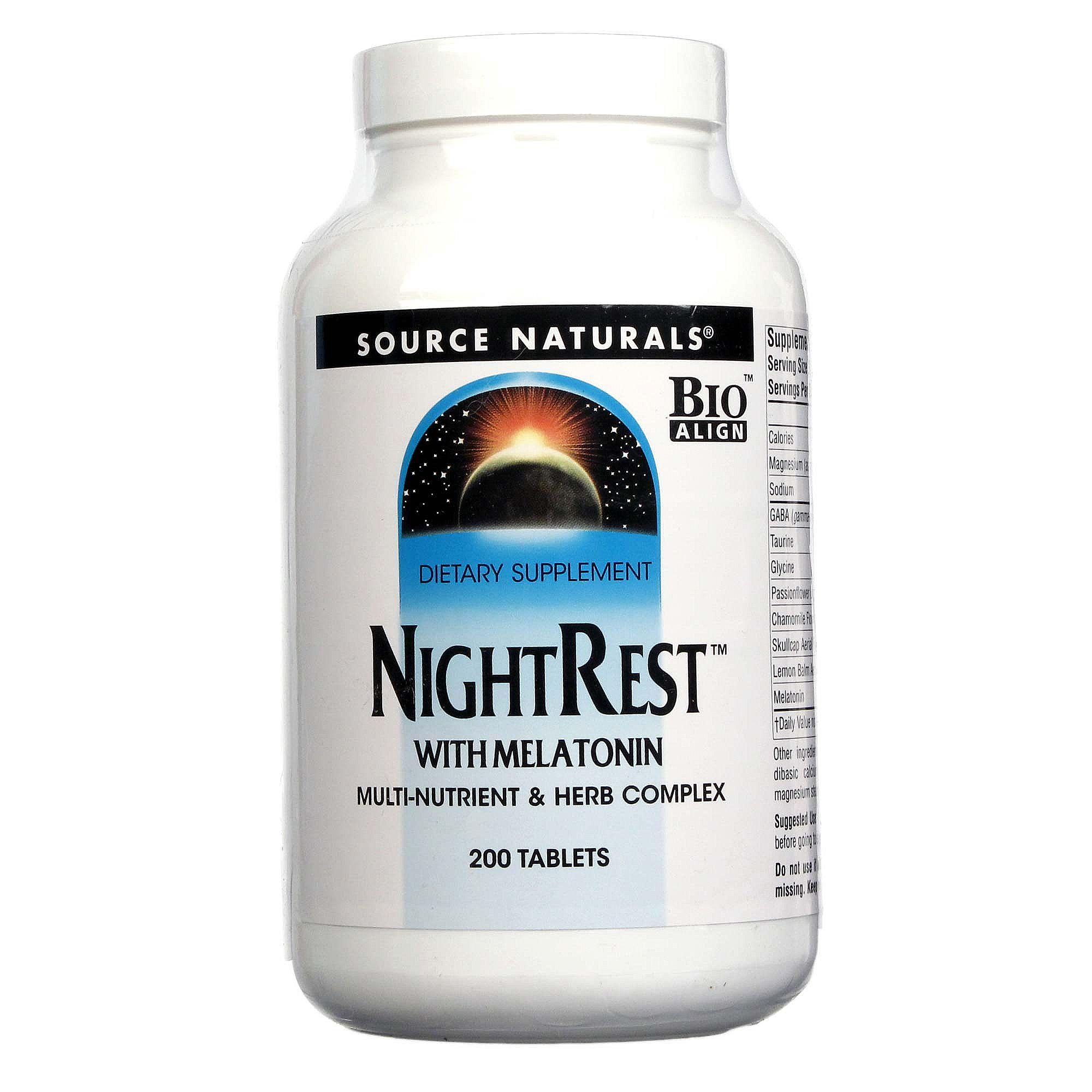 Source Naturals Night Rest Reviews