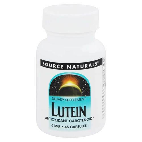 Source Naturals Lutein 6mg - 45 Capsule - 82719_front.jpg