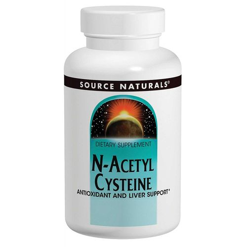 Source Naturals N-Acetyl Cysteine - 1,000 mg - 60 Tablets