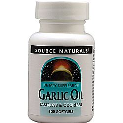 Source Naturals Garlic Oil