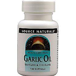 Source Naturals Garlic Oil