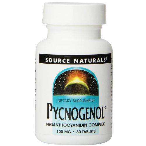 Source Naturals Pycnogenol 100 mg - 30 Tablets