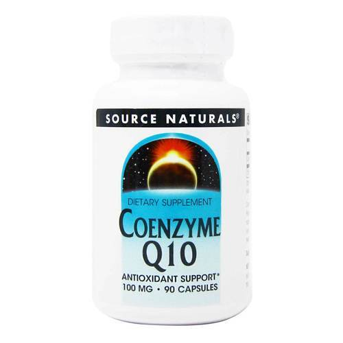 Source Naturals Coenzyme Q10  - 100 mg - 90 Capsules - 82914_front2020.jpg