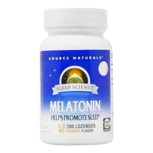 Source Naturals Melatonin Orange - 5 mg - 200 Sublingual - 82989_front2020.jpg
