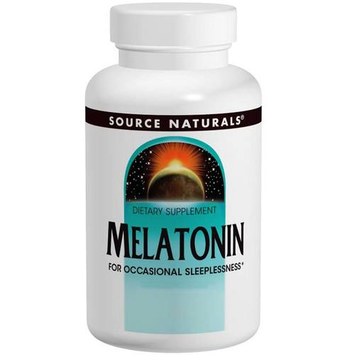 Source Naturals Melatonin Peppermint - 5 mg - 50 Sublingual