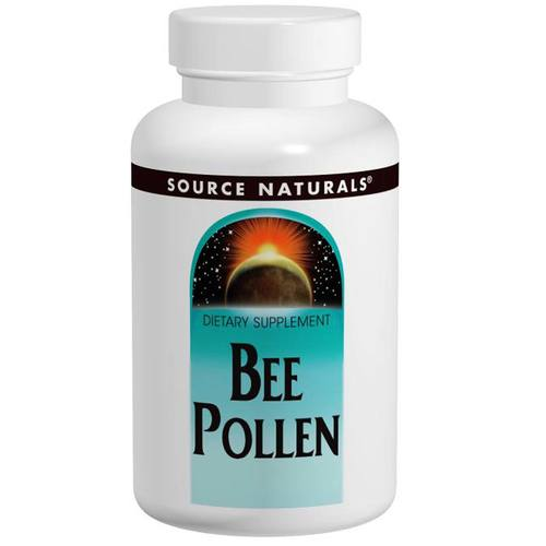 Source Naturals Bee Pollen - 500 mg - 100 Tablets