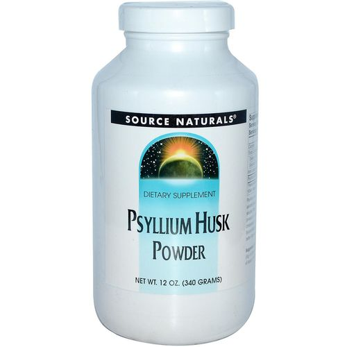 Source Naturals Psyllium Husk Powder  - 12 oz