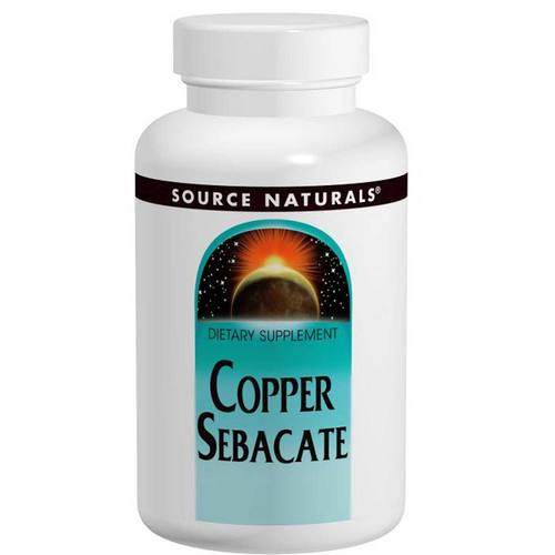 Copper Sebacate 22 mg
