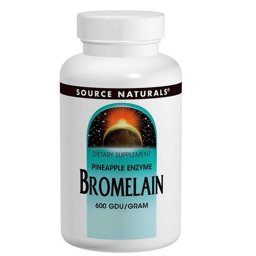 Source Naturals Bromelain - 500 mg - 120 Tablets