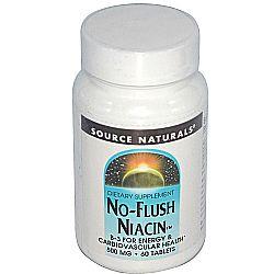Source Naturals No-Flush Niacin 500 mg