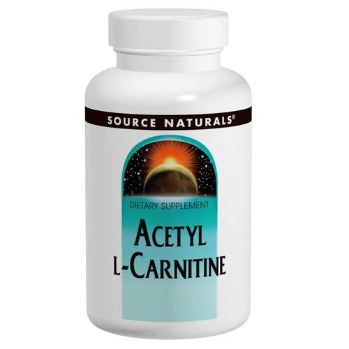 Source Naturals Acetyl L-Carnitine - 250 mg - 30 Tablets