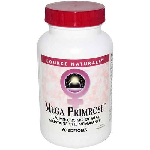Source Naturals Mega Primrose - 60 Softgels