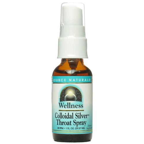 Wellness Colloidal Silver Throat Spray
