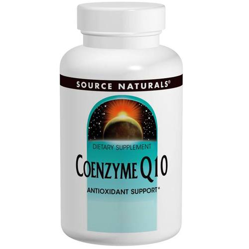 Source Naturals Coenzyme Q10  - 200 mg - 60 Vegetable Capsules