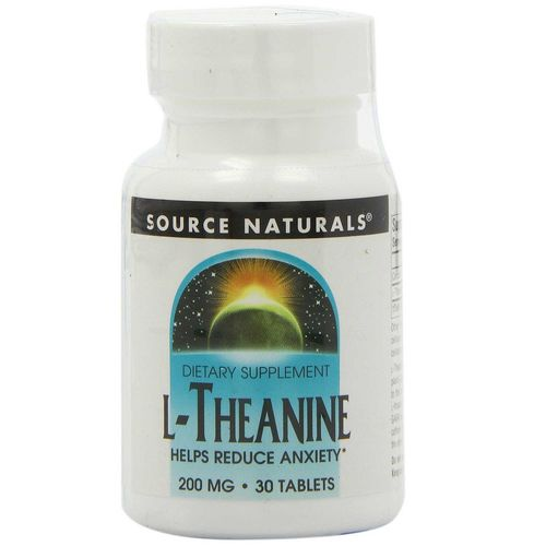 Source Naturals L-Theanine 200 mg  - 30 Tablet
