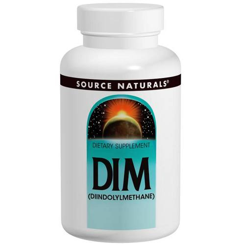 Source Naturals DIM (Diindolymethane) 100 mg  - 30 Tablets