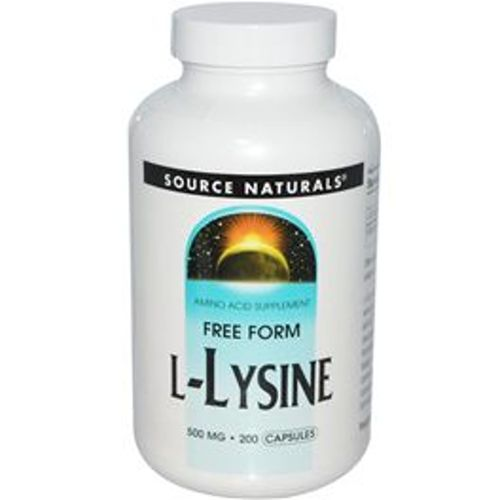 Free Form L-Lysine 500 mg