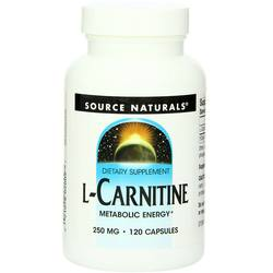Source Naturals L-Carnitine 250 mg