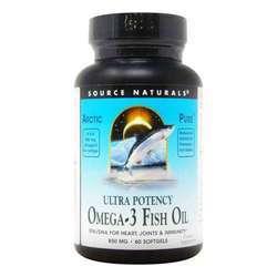 Source Naturals ArcticPure Ultra Potency Omega-3 Fish Oil