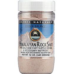 Source Naturals Crystal Balance Himalayan Rock Salt Fine Grind Refill
