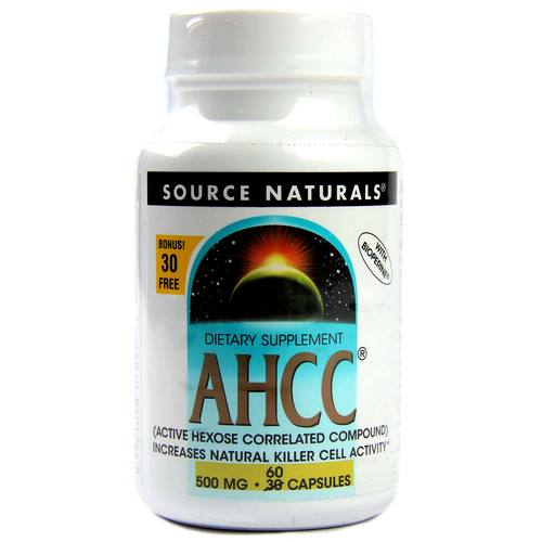 AHCC with BioPerine