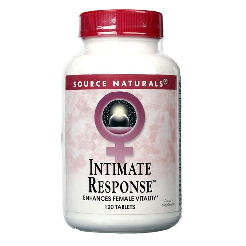 Source Naturals Intimate Response  - 120 Tablets - 021078010586_1.jpg