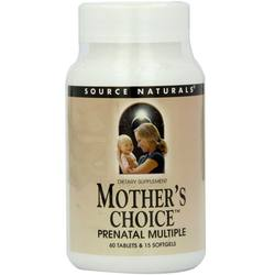 Source Naturals Mother's Choice Prenatal Multi