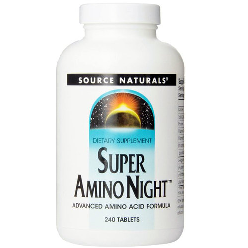 Source Naturals Super Amino Night  - 240 Tablets - 8692_1.jpg