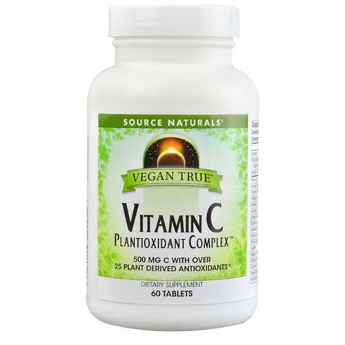 Vegan True Vitamin C Plantioxidant Complex 500 mg