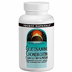 Source Naturals Glucosamine Chondroitin Complex with MSM