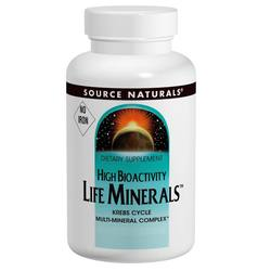 Source Naturals Life Minerals, No Iron