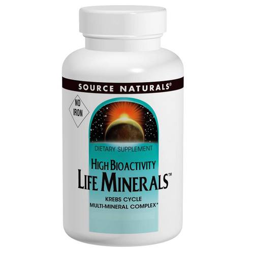 Life Minerals- No Iron