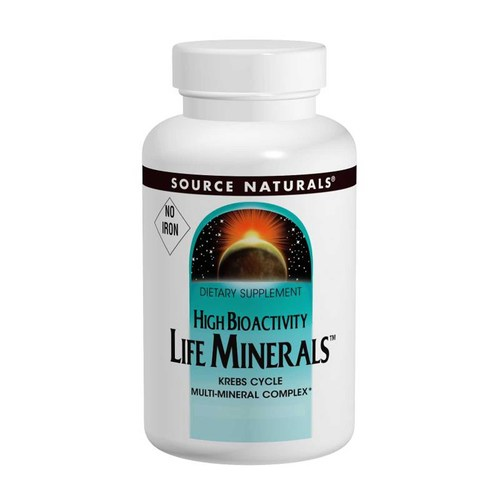 Life Minerals, No Iron