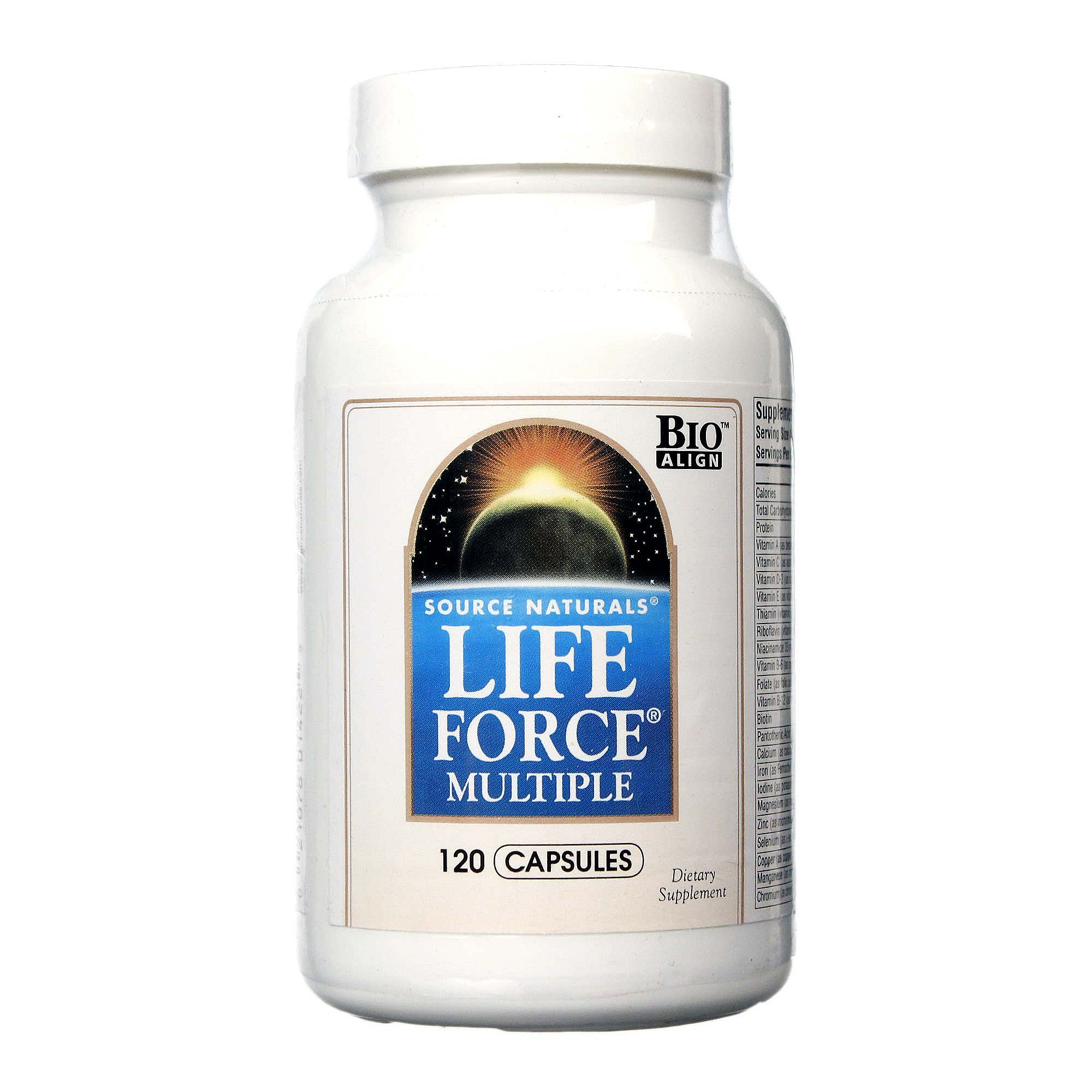 Source Naturals Life Force Multivitamin Review