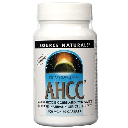 Source Naturals AHCC with BioPerine - 500 mg - 30 Capsules - 021078016779_1.jpg