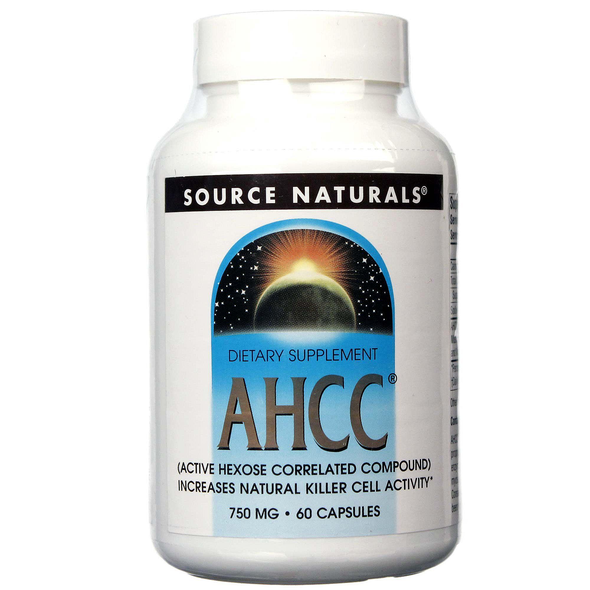 Source Naturals AHCC - 750 mg - 60 Capsules
