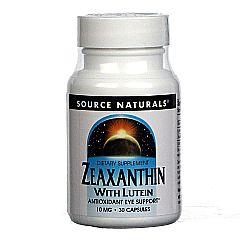 Source Naturals Zeaxanthin with Lutein