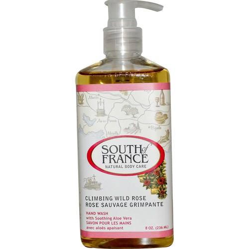 South Of France Hand Wash Climbing Wild Rose - 8 oz - 281430_01.jpg